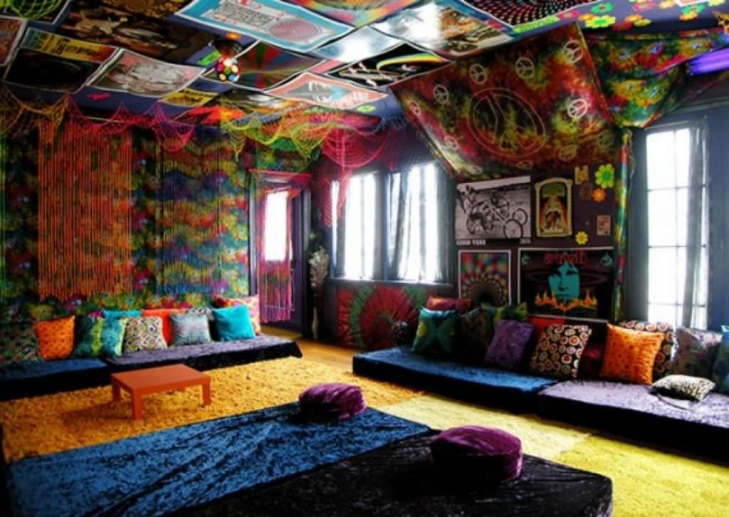 hippie room decor diy