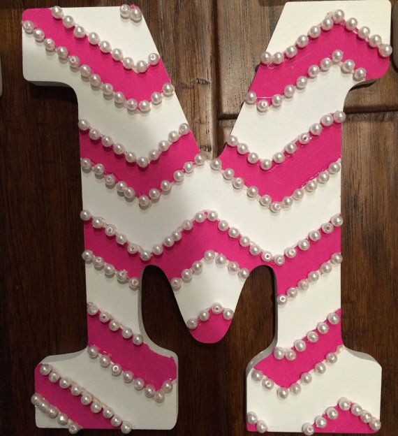 25 Unique Decorating Wooden Letters Ideas On Pinterest
