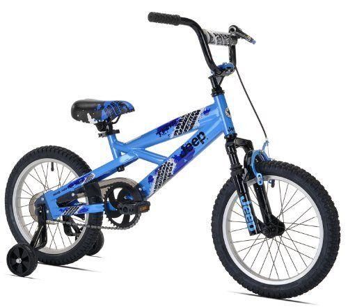 Jeep Boy S Bike 16 Inch Wheels Http Www Amazon Com Dp B0046xoquw Ref Cm Sw R Pi Awdm Zmzjsb10qkyb4 Boy Bike Kids Bicycle Blue Bikes