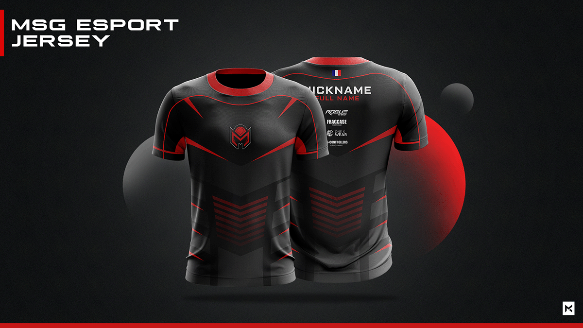 Download JERSEY ESPORT TEAM MOCKUP on Behance in 2020 | Sports ...
