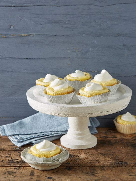 Schnelle Käsekuchen-Muffins backen Pinterest - chefkoch käsekuchen muffins