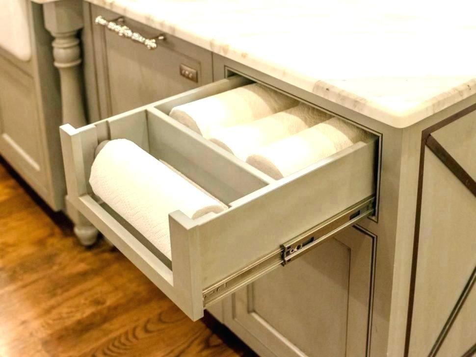 Cabinet Paper Towel Holder Inside Medium Size Of Rack Under Wood