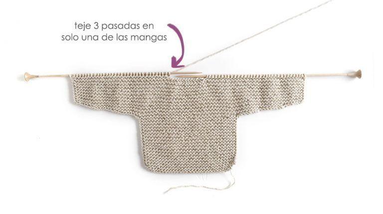 Kimono de Punto para Bebé [ Tutorial y Patrón GRATIS ] | batitas ...