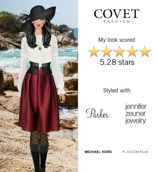 Covet Fashion Game. Look: Sea  Legs