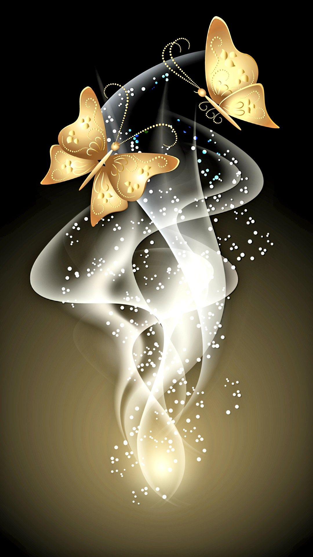 Papillons | Fond d'écran coloré, Fond d'écran papillon ...