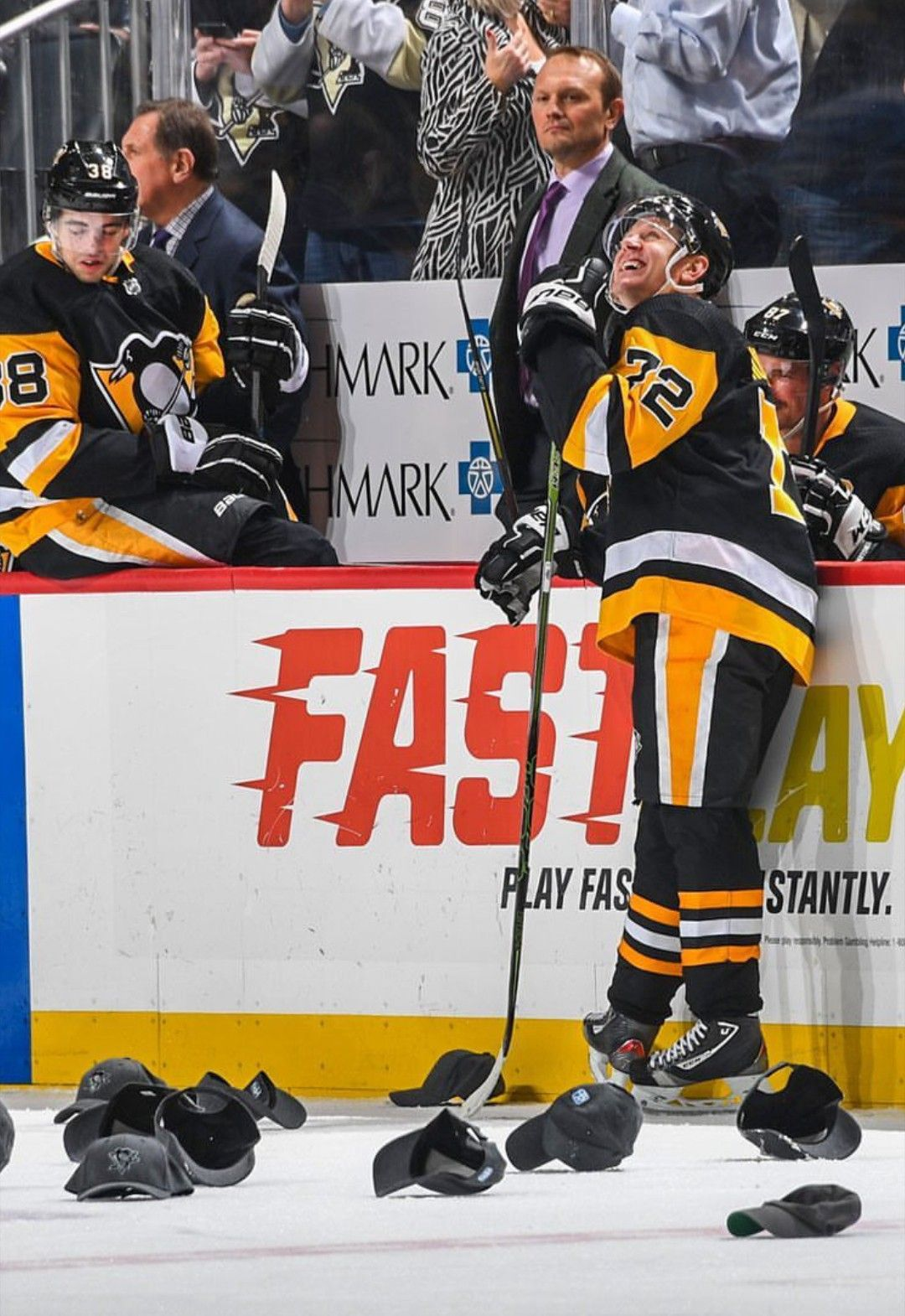 2 47 Fastest Hat Trick In Pens History Patric Hornqvist 12 4 18 Nhl Pittsburgh Penguins Pittsburgh Penquins Pittsburgh Penguins Hockey