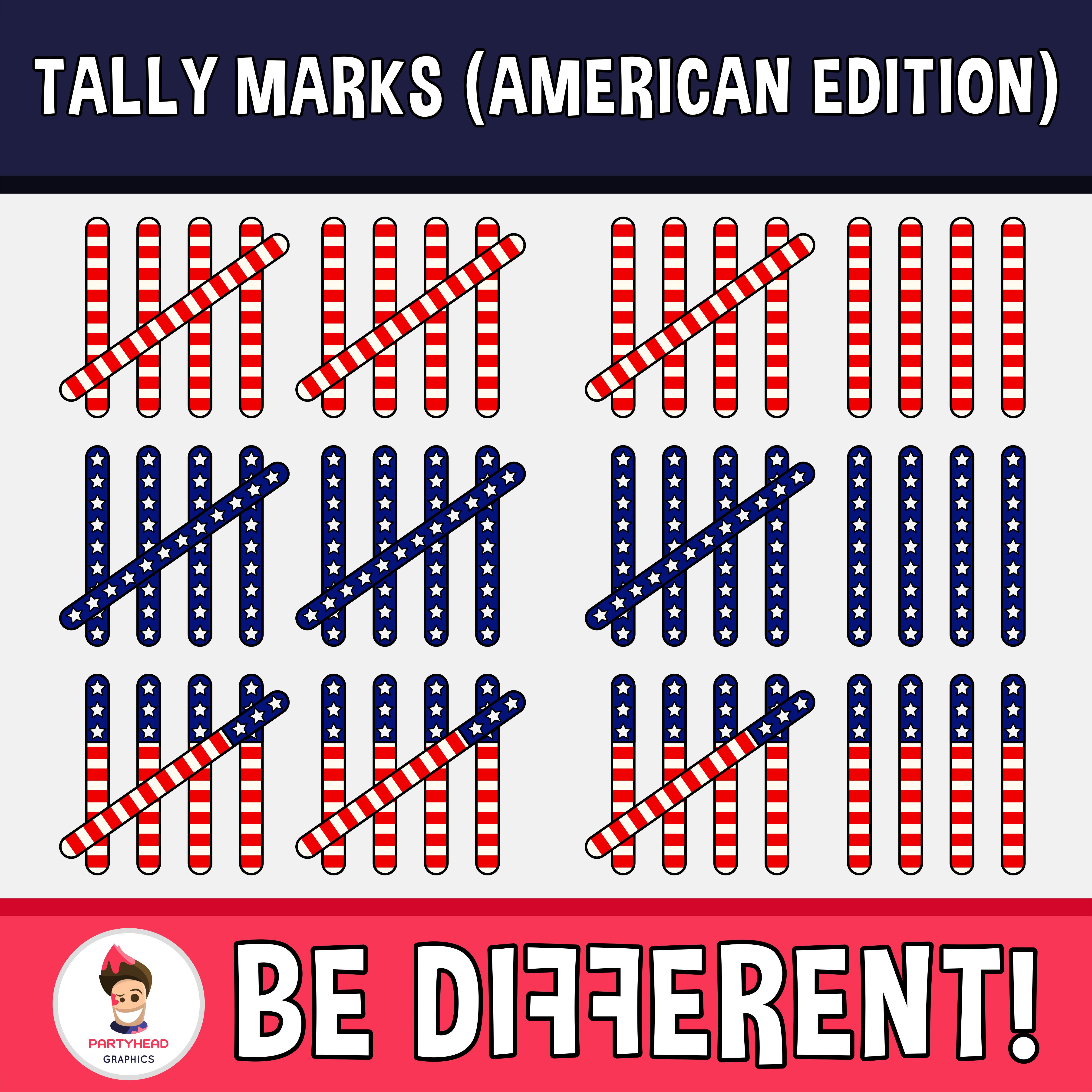 Tally Marks Clipart American Edition Tally Marks Clip Art Marks