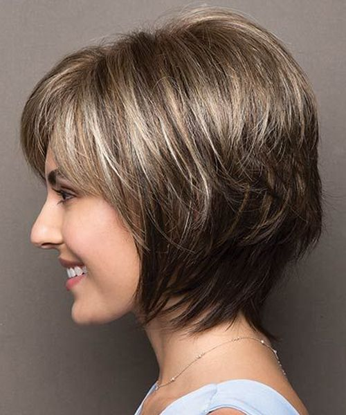 Plus Size Cute Short Layered Haircuts 2017 2018 For Women Giving