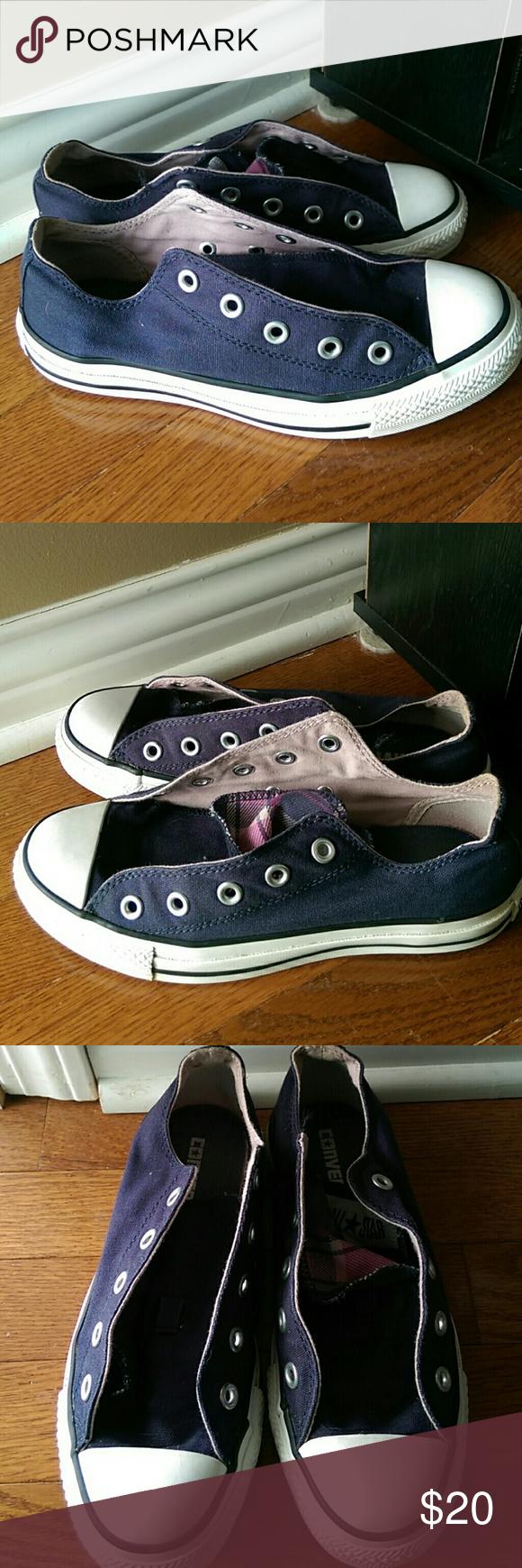 converse shoes no laces size 4