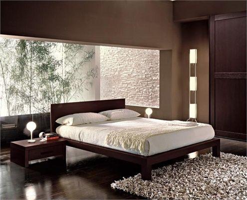 Une d co asiatique pour rester zen habitaciones dise o - Somier japones ...