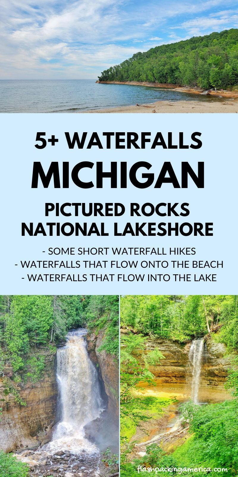 Michigan waterfalls: US vacation ideas with nation