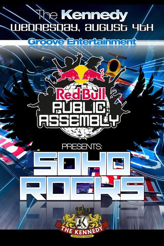 Redbull SoHo Rocks party - Tampa, Fl