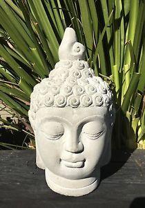 Buddha Head Statue Ornament   Outdoor Garden Patio Or Indoor Home Use