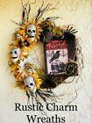 Photo of Halloween skeleton sunflower wreath #Holiday