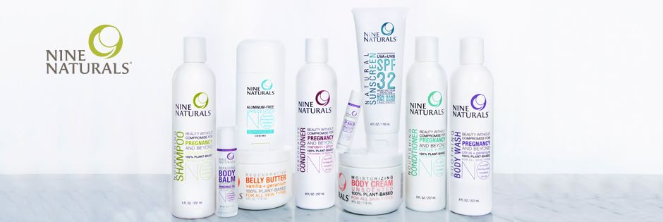Nine Naturals - Pregnancy Safe, All-Natural Beauty Products