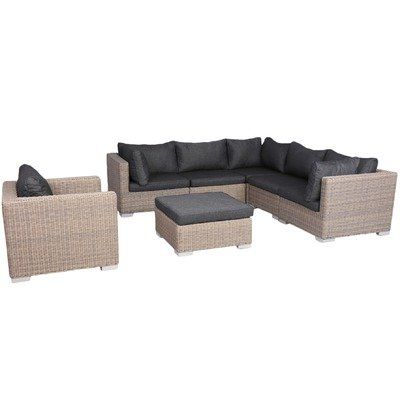 Best 5 Seater Apollo Outdoor Lounge Table Set By Sunlong 400 x 300
