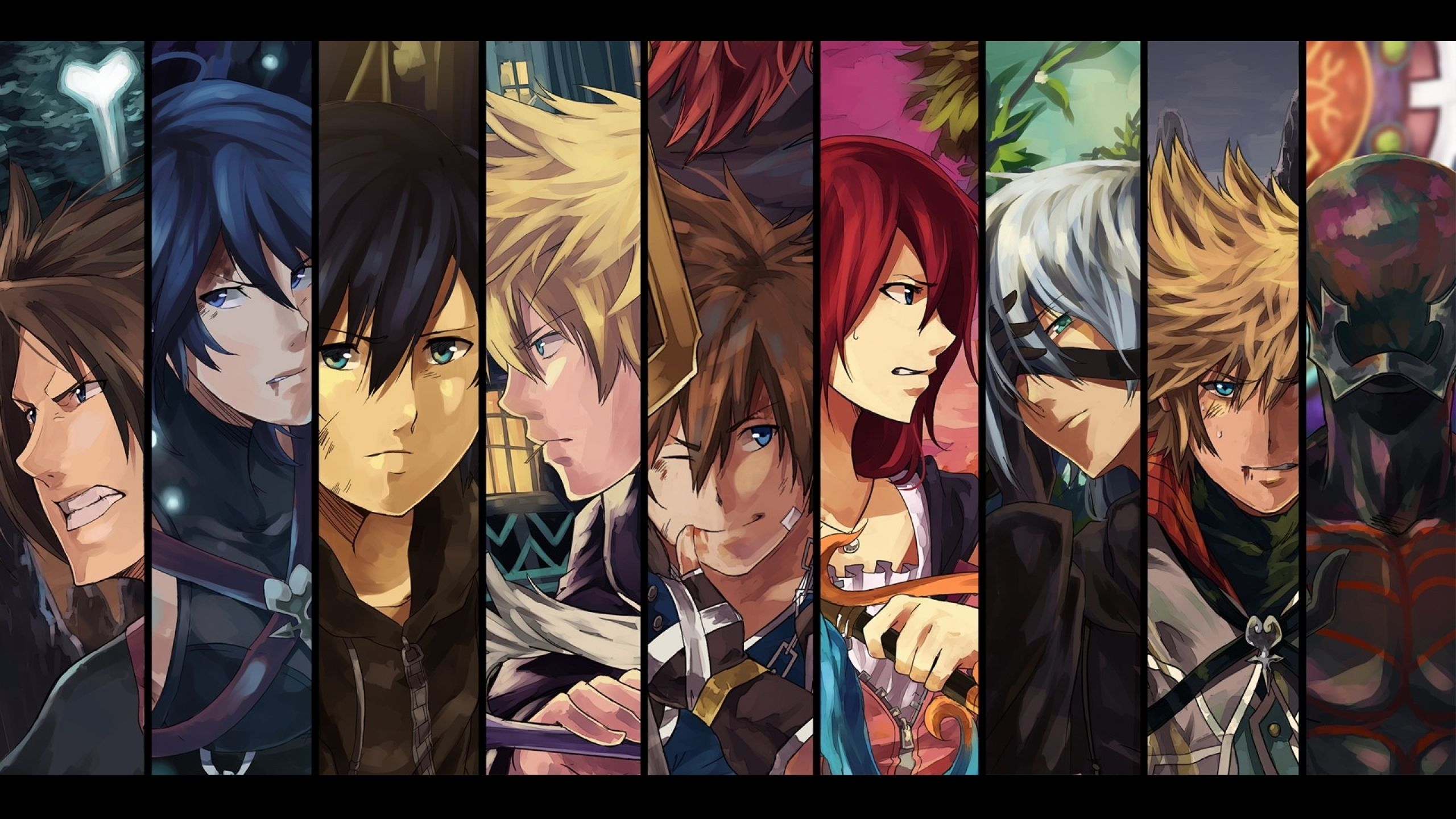 Download Wallpapers Download 2560x1440 Kingdom Hearts Anime