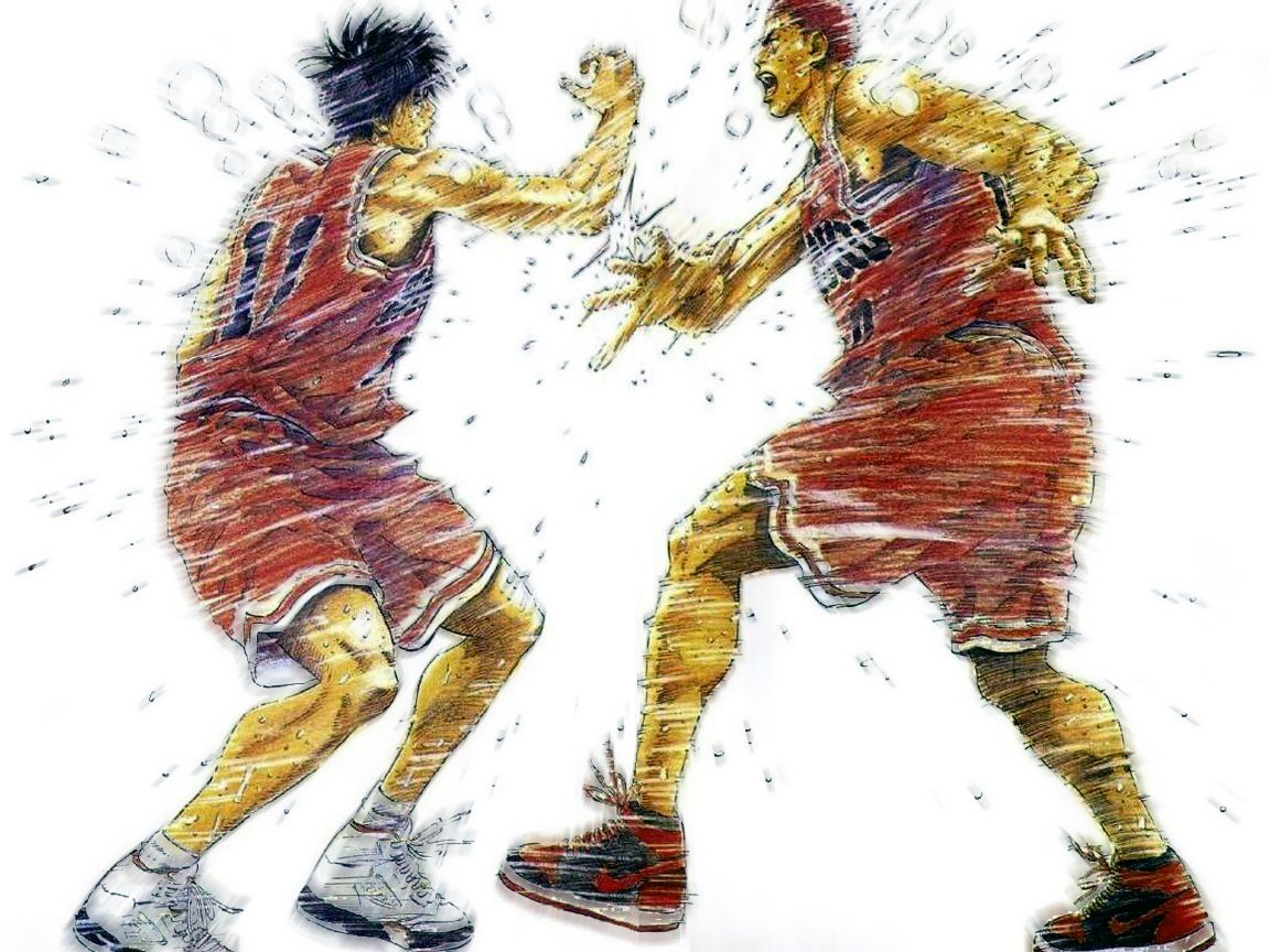 Rukawa X Sakuragi (SlamDunk!) | Slam dunk manga, Slam dunk, Slam ...