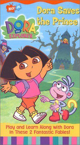 Dora The Explorer Dora Saves The Prince Vhs Dora The Explorer