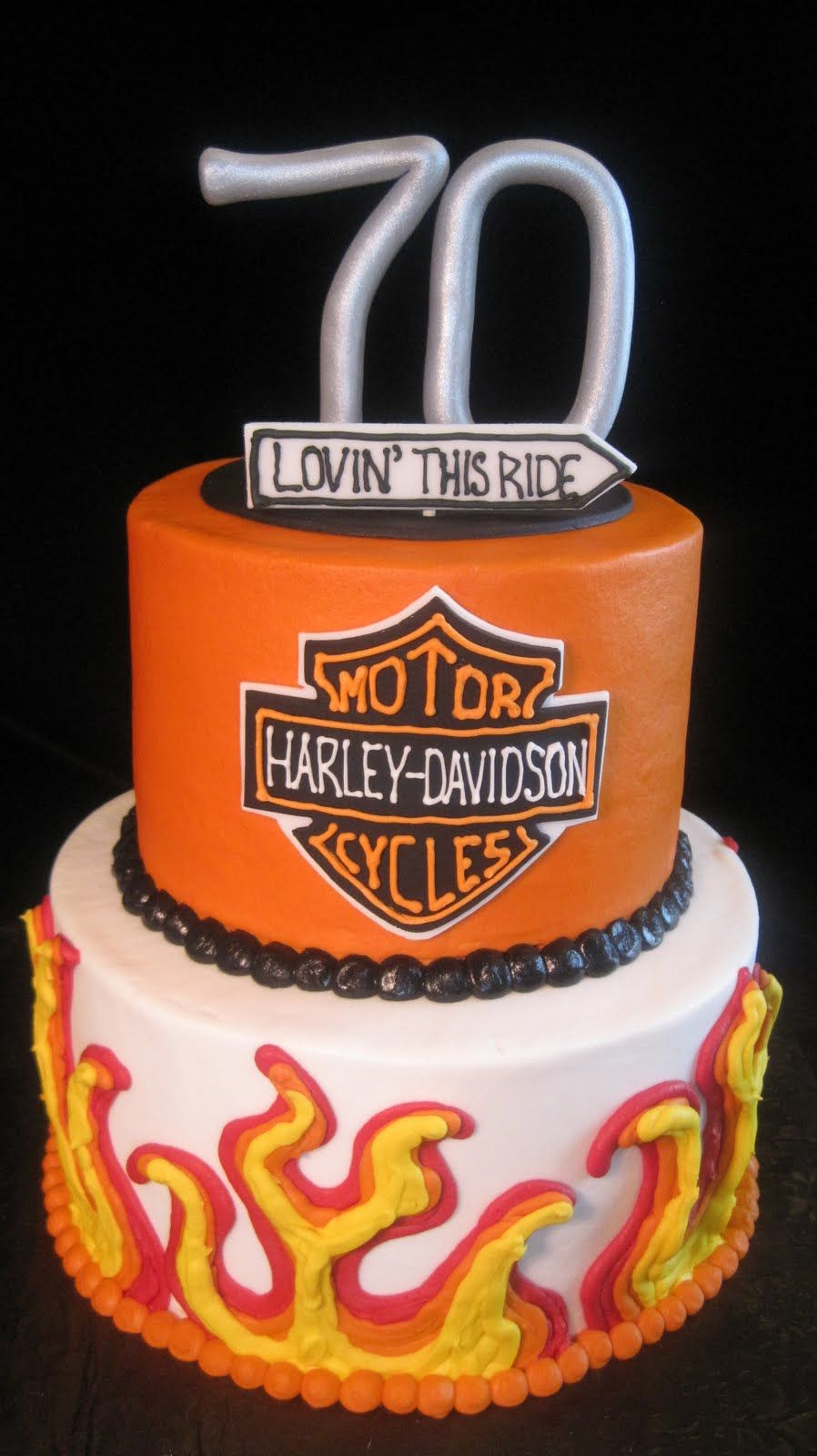harley davidson birthday cakes Harley Davidson Birthday Cake And