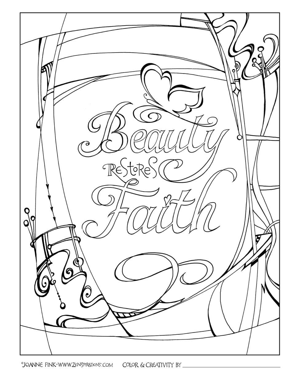 Zenspirations - BLOG | Adult Coloring by Anne | Pinterest | Colorear ...
