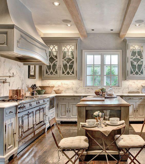 Luxury White Glass Cabinet Doors