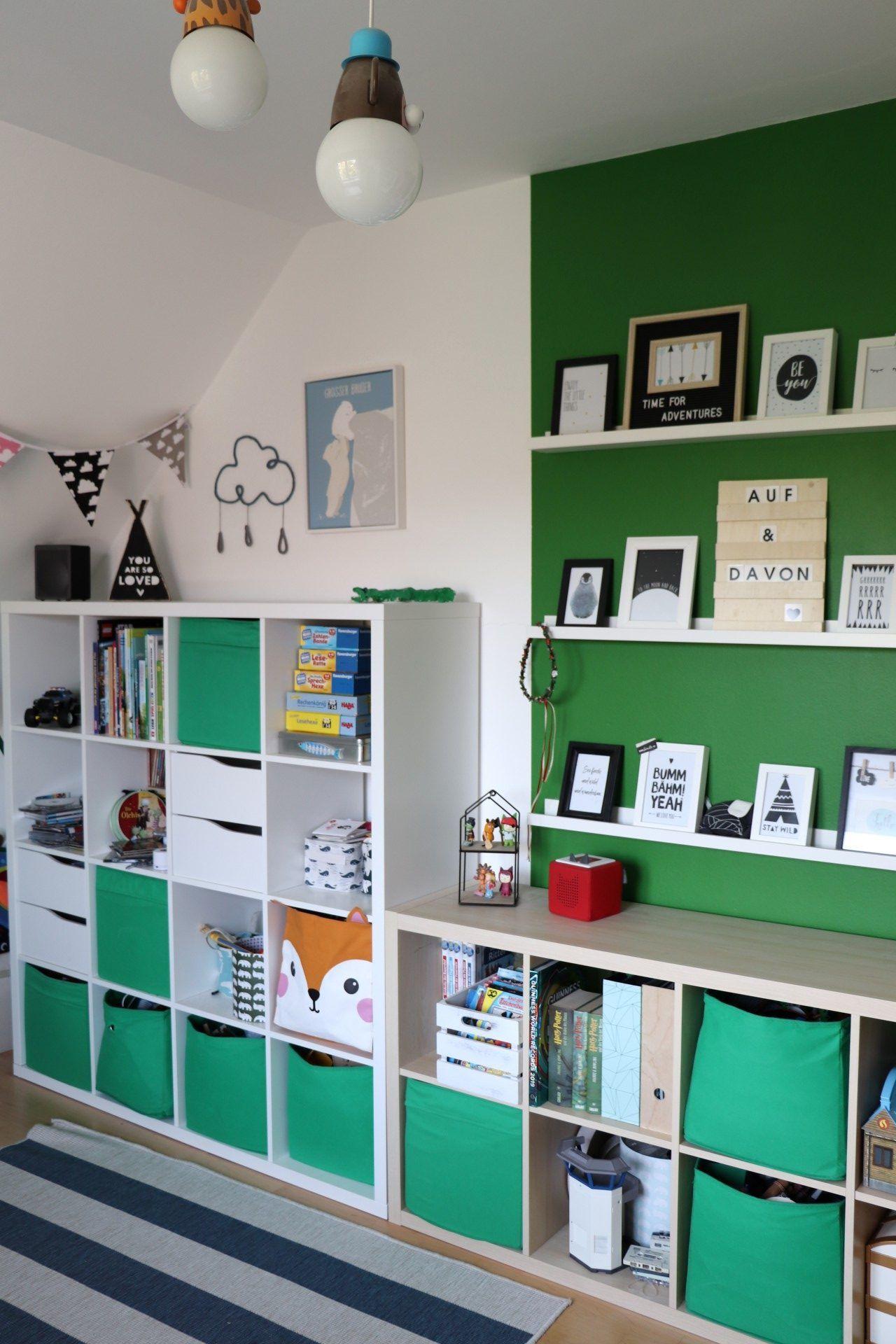 Kinderzimmer-Umgestaltung: Vom Kindergartenkind- zum Schulkind-Kinderzimmer #zimmerkleineinrichten