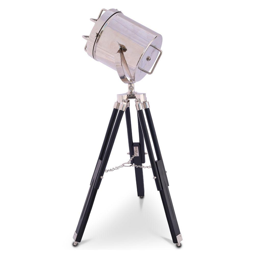 Vintage Stativ Projektor Stehlampe Stahl Und Holz Stehlampe Stativ Lampen
