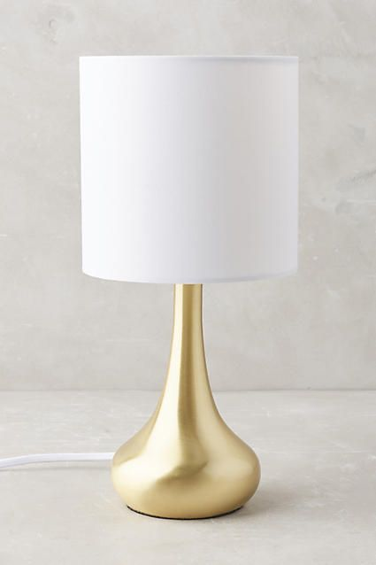 Ensemble Lampe De Table Fumi Anthropologie Com Modern Table Lamp Gold Table Lamp Table Lamp