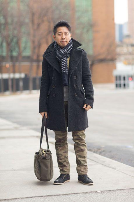 Street Style: Camo-Print Pants