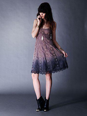 Sunray Trapeze Dress