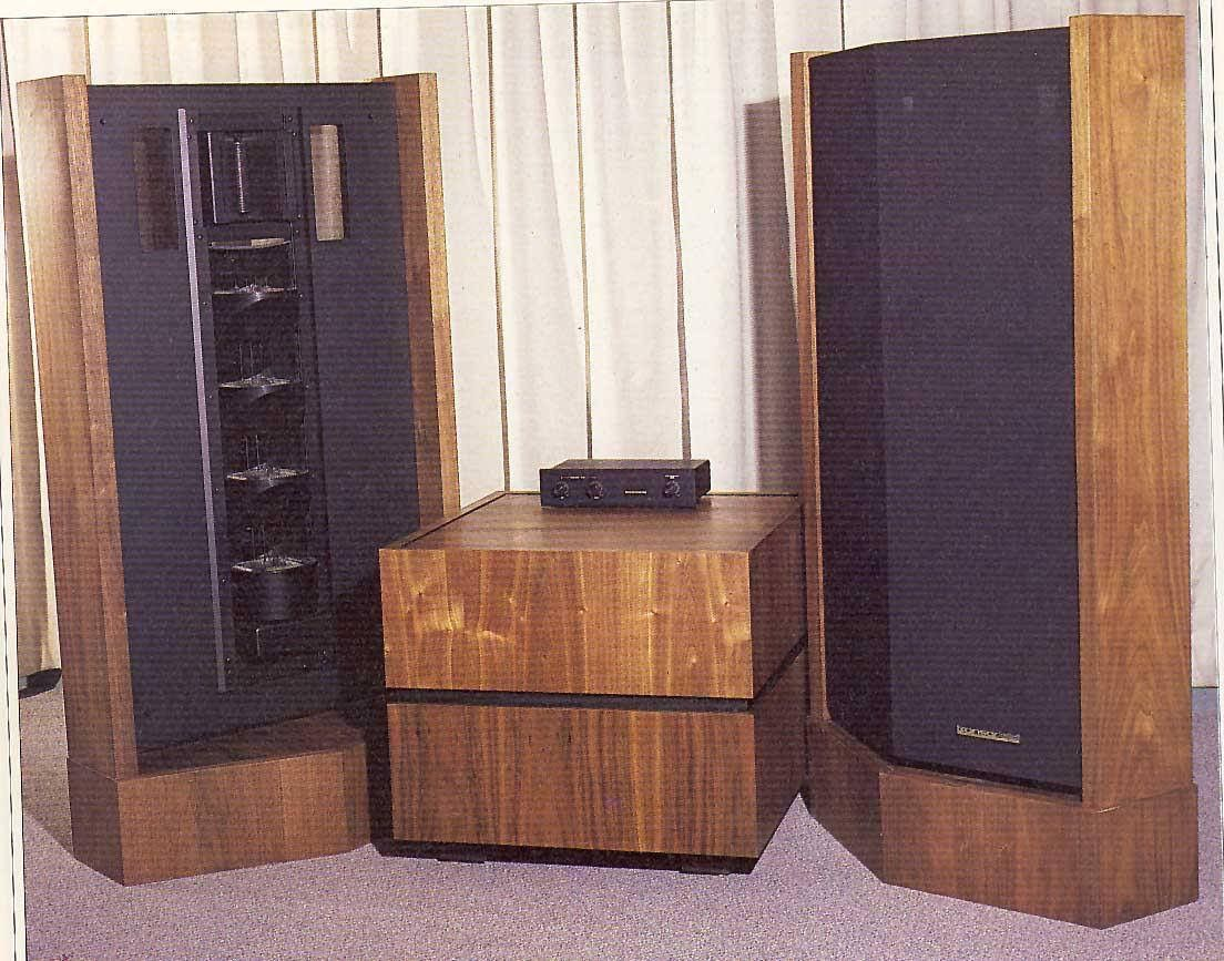 Late 60s Early 70s Vintage Heil And Lat Hybrid System