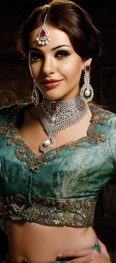 Indian Jewellery... #wedding #accessories #jewelry