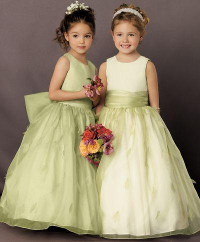 9694855e5f Jordan Sweet Beginnings Two Tone Organza Flower Girl Dress