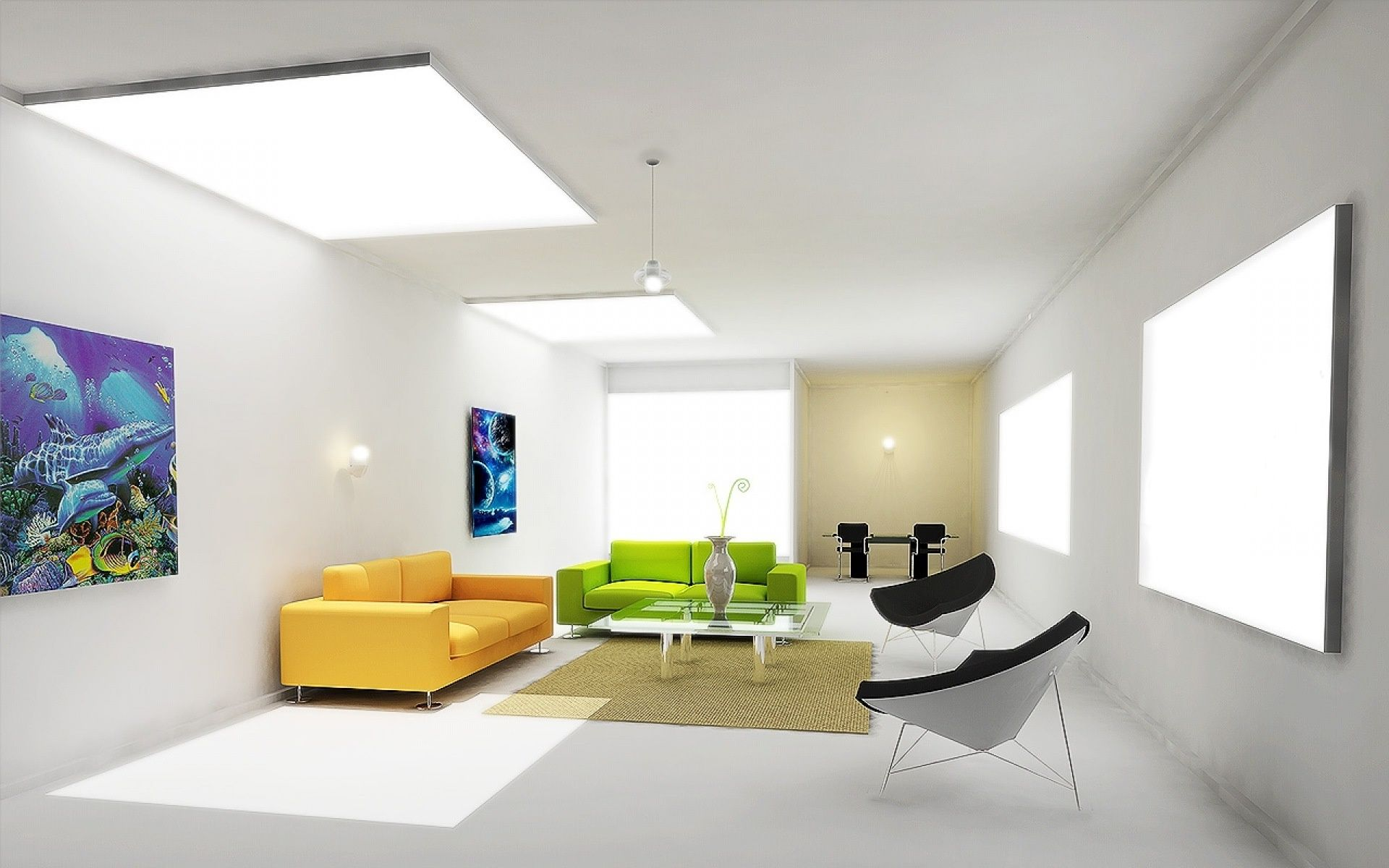 Weiße Zimmer, Zeitgenössische Inneneinrichtung, Modernes Wohn Einrichtung,  Haus Innenarchitektur, Ideen Zur Innenausstattung, Wohnzimmerinnenraum,  Moderne ...