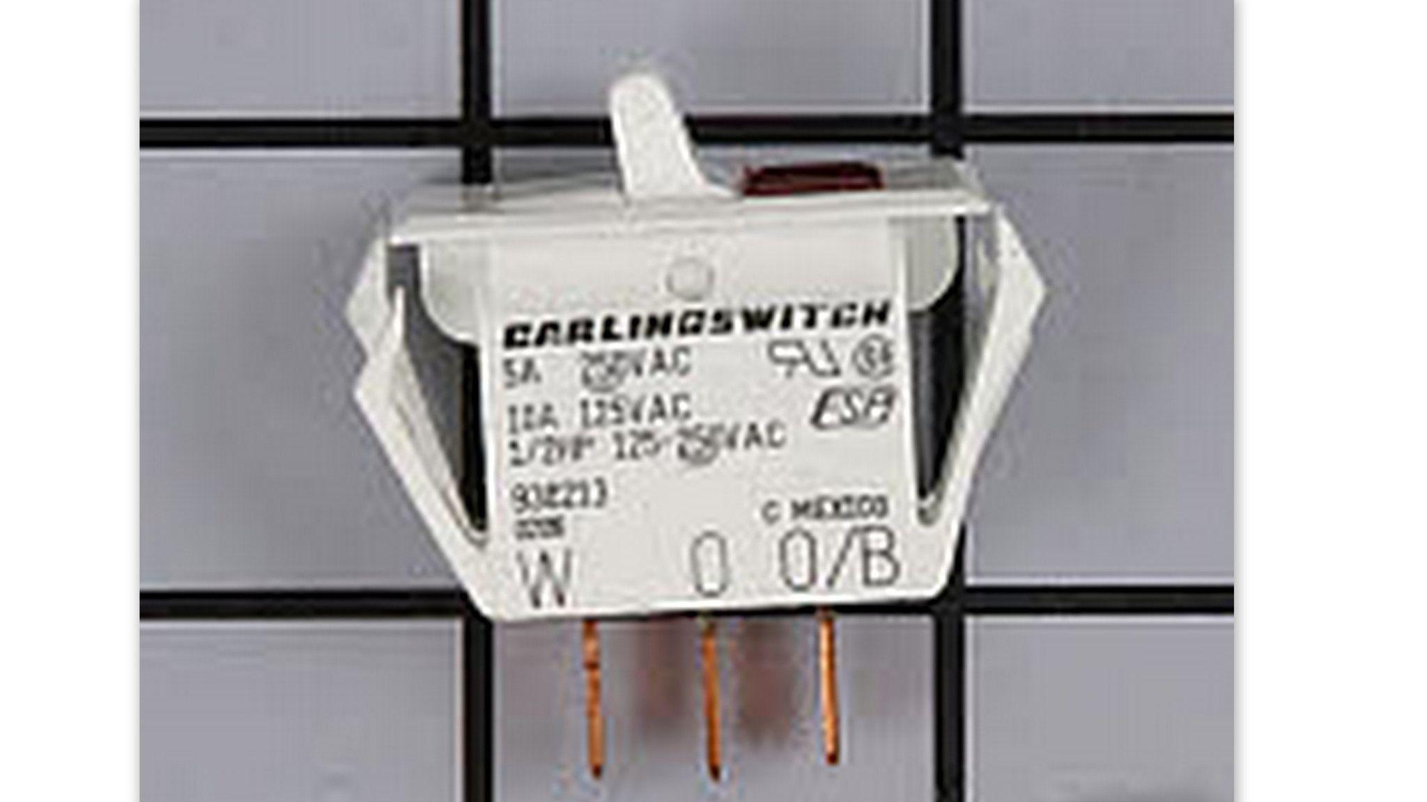938213 Whirlpool Refrigerator Energy Saver Toggle Switch