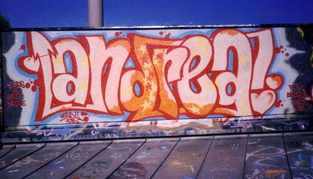 Andrea Graffiti My Style Art Street Art Graffiti