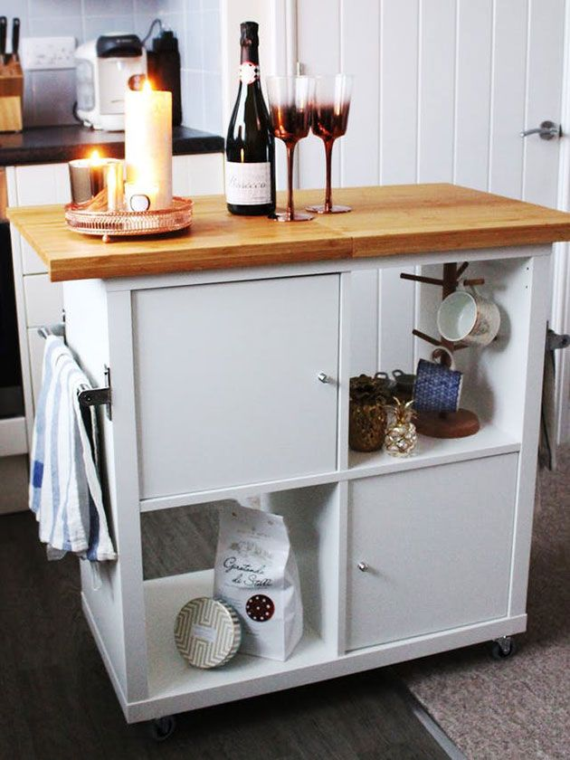 5 soluciones para cocinas muy peque as peque os cocinas y muebles ikea - Soluciones cocinas pequenas ...