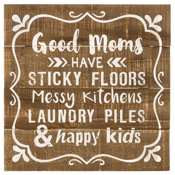 good moms wood wall decor wood wall decor wood plank on wall of moms id=50345