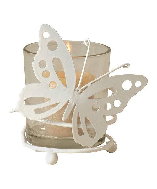 Take a look at the Butterfly Votive Candleholder on #zulily today!