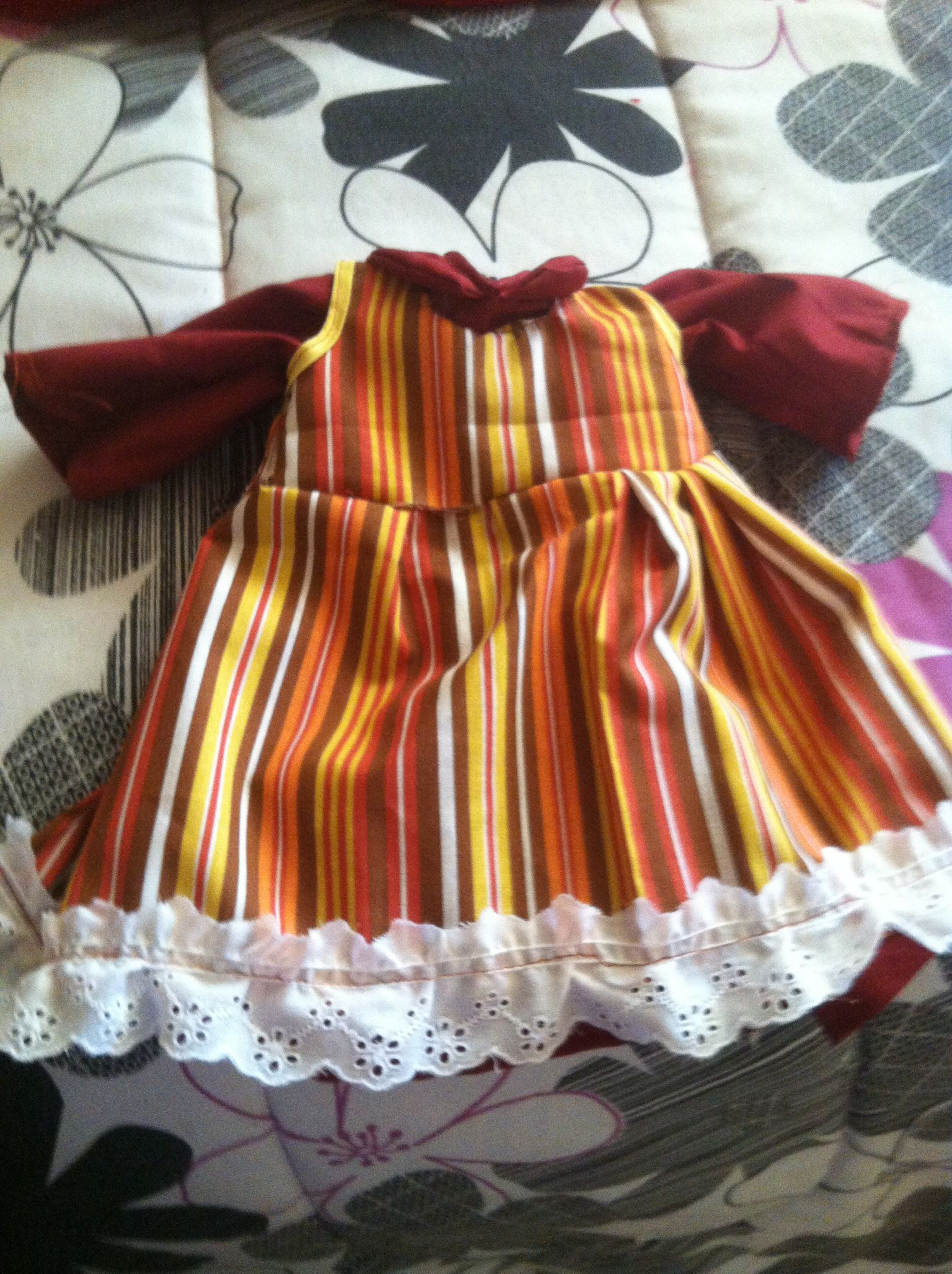 Hand made outfit for 18 inch doll $7.00 shipped to US only paypal only