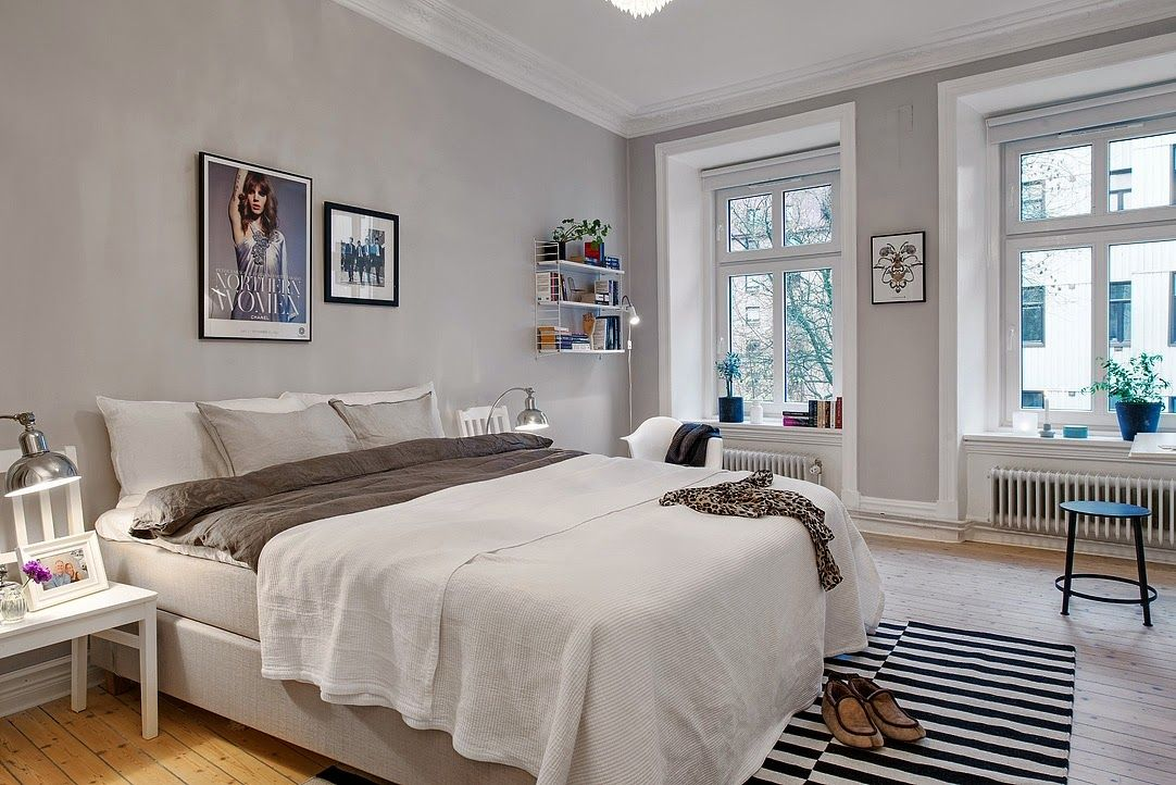 Jurnal de design interior - Amenajări interioare : Stil scandinav într-un apartament de două camere