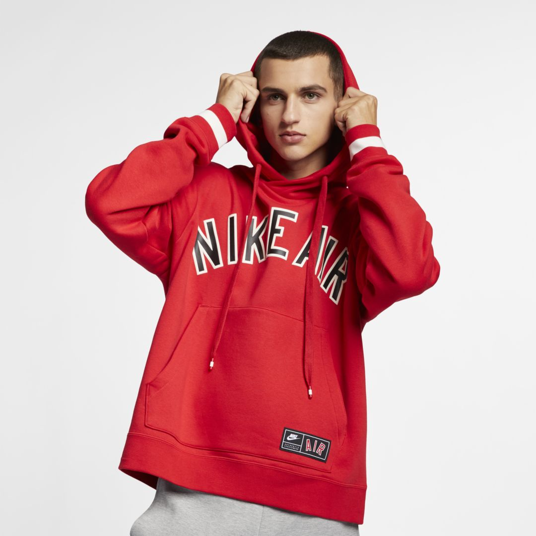 nike air red sweater