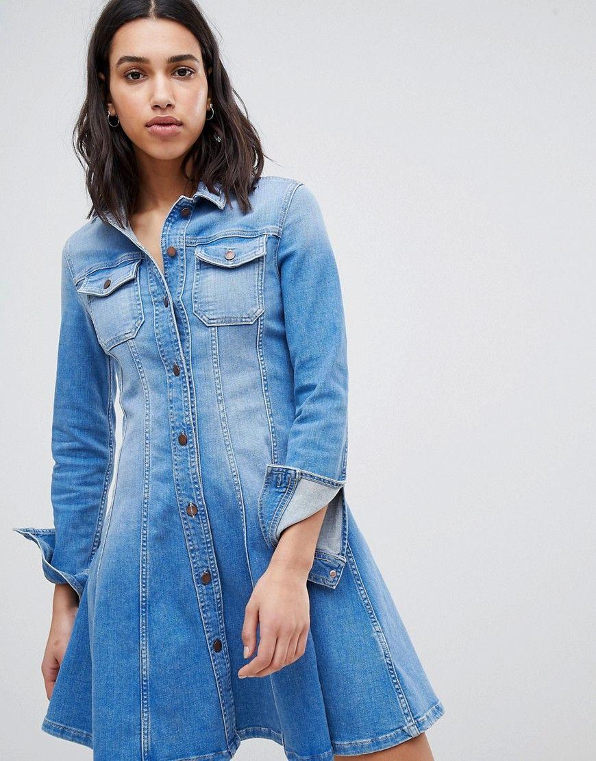 Tommy Hilfiger Denim Hemdkleid Blau Jetzt Bestellen Unter Https Mode Ladendirekt De Damen Bekleidung Kleider Blusenkleider Mode Designer Kleider Kleider