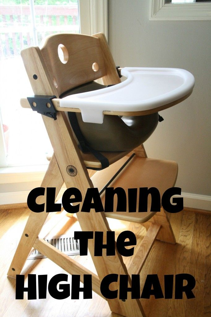 How to deep Clean your baby\'s high chair. #MrCleanMorePower ...