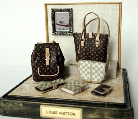 Miniature Louis Vuitton Purses