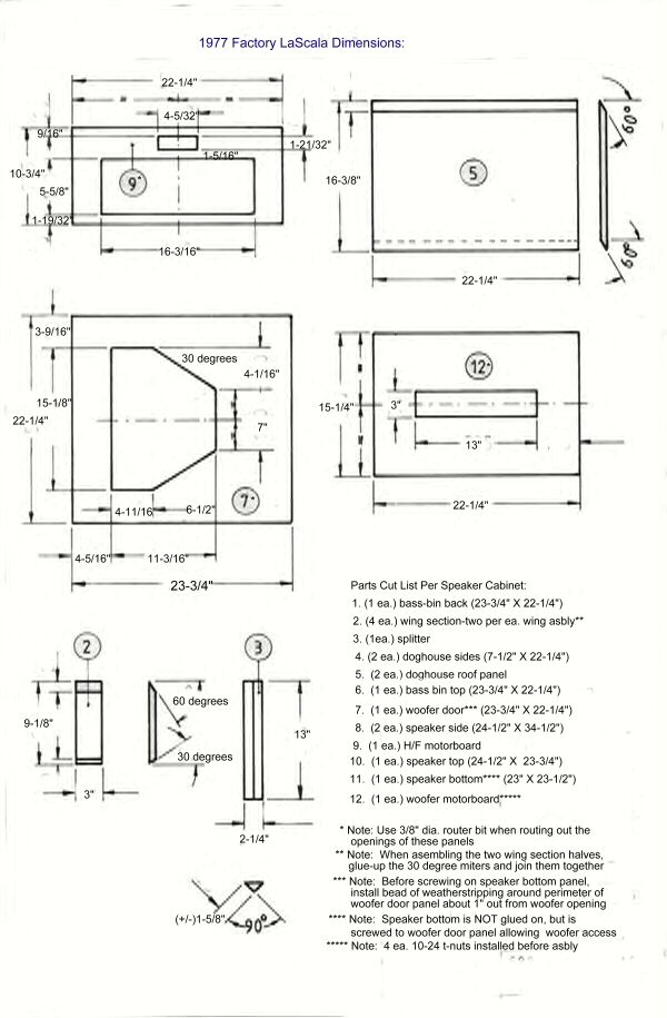 La Scala build - Page 2 - Technical/Modifications - The Klipsch