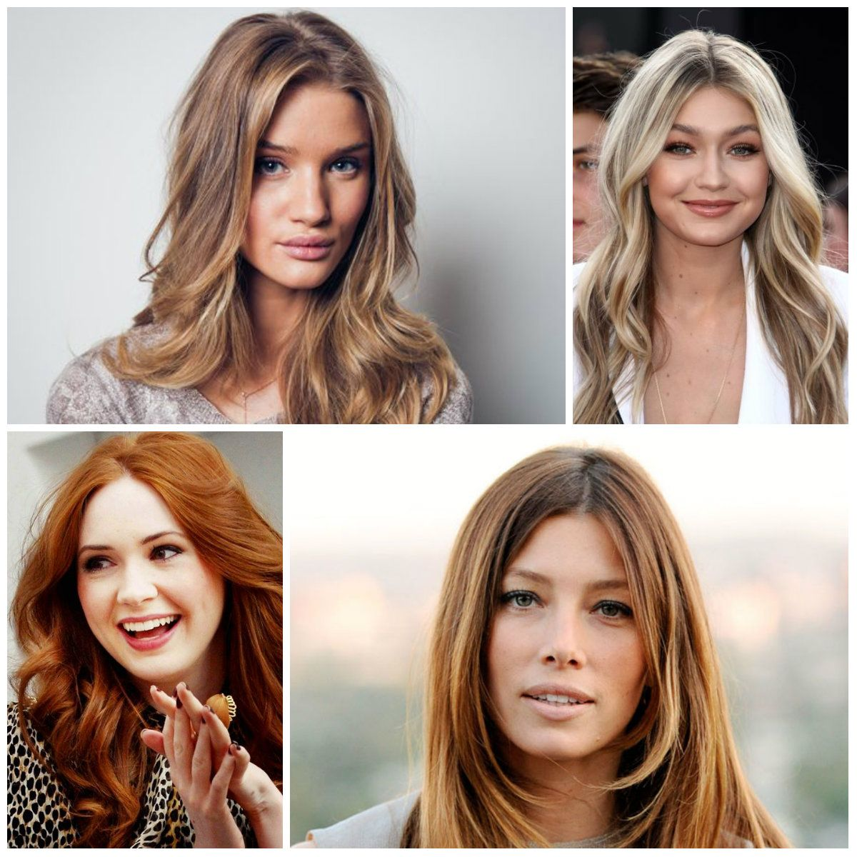 2017 Hair Color Trends By Celebrities New Hair Color
