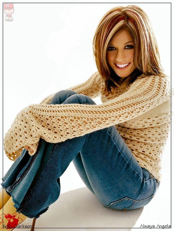 Kelly Clarkson I Love Her Hair Color Light Brown Hair