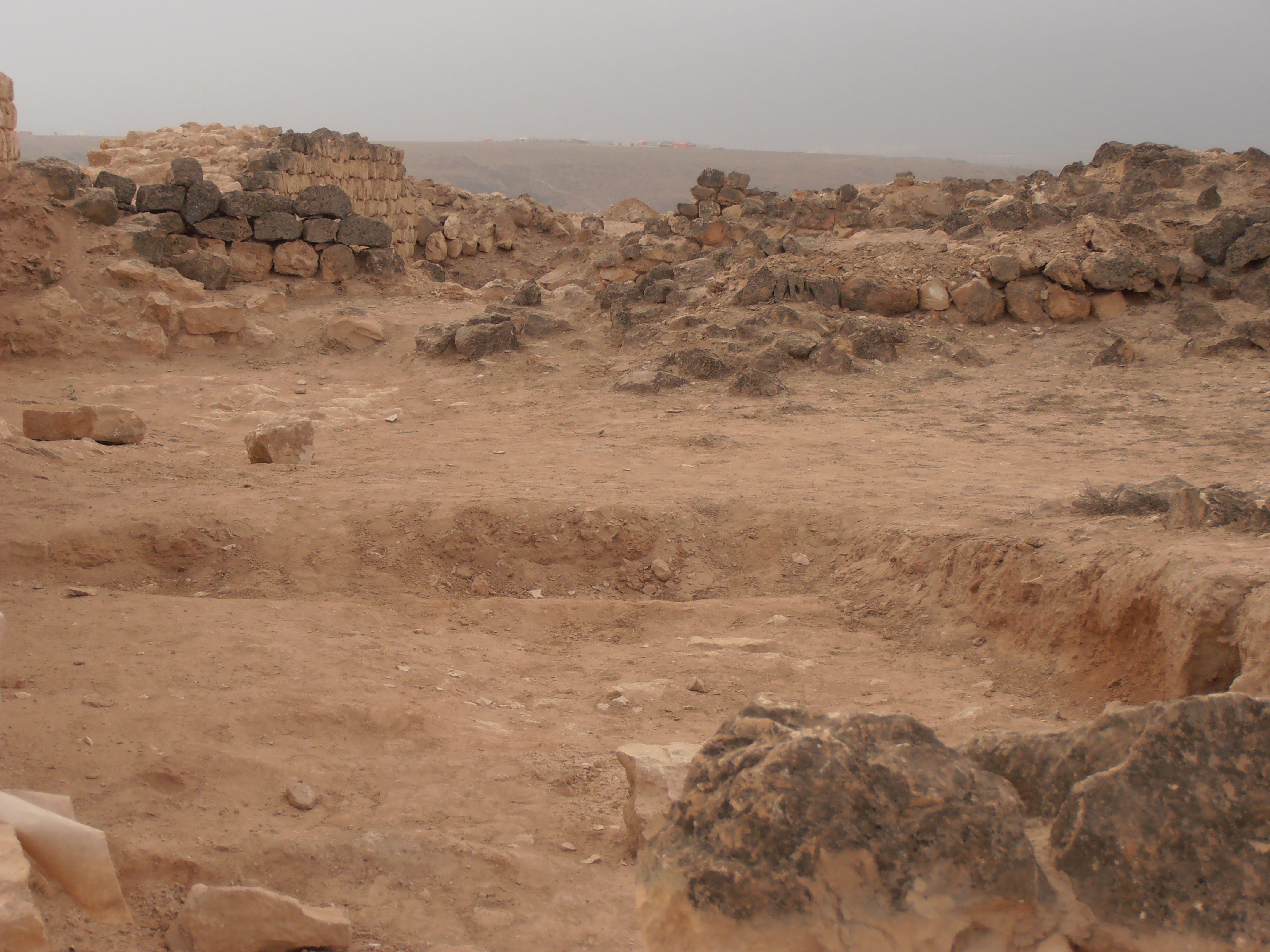 Queen of Sheba's palace in Salallah, Oman.